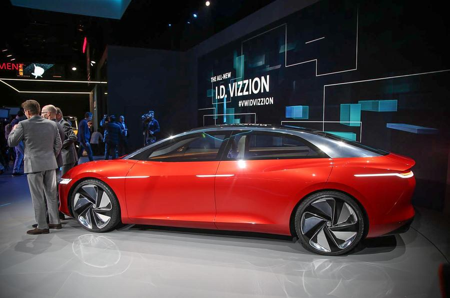 The Volkswagen ID Vizzion concept