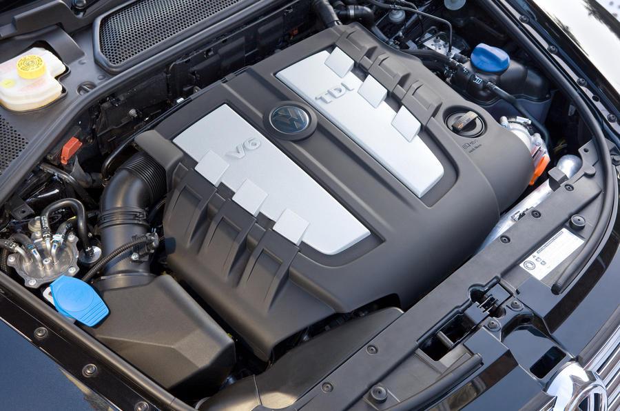 3.0-litre V6 Volkswagen Phaeton diesel engine