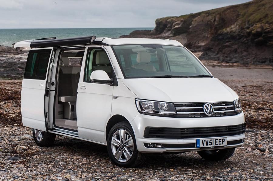 Volkswagen California Ocean door open
