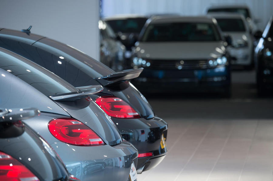 Volkswagen showroom