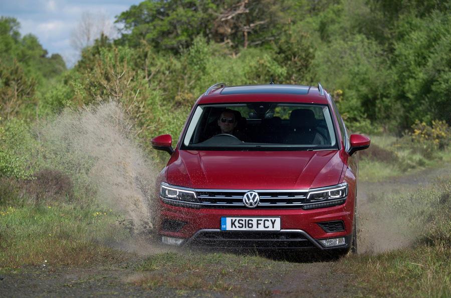 Volkswagen Tiguan off-roading