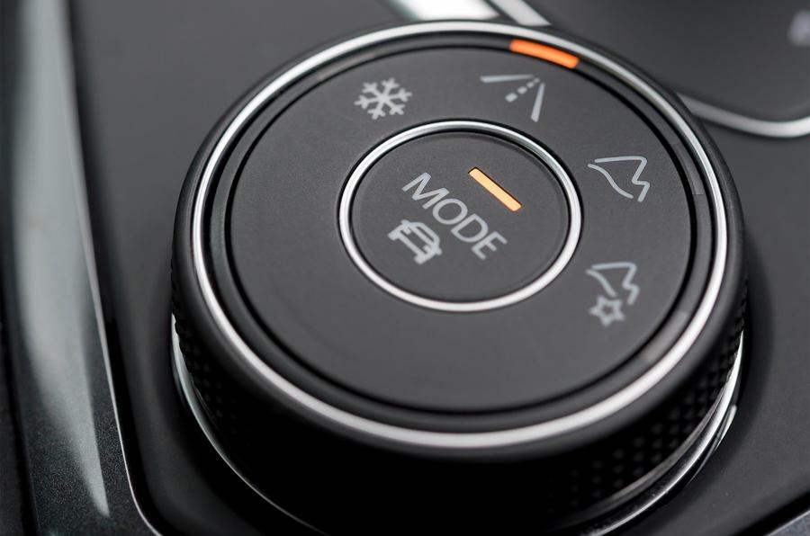 Volkswagen Tiguan off-road mode