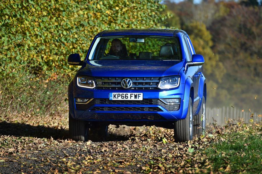 Volkswagen Amarok off-roading