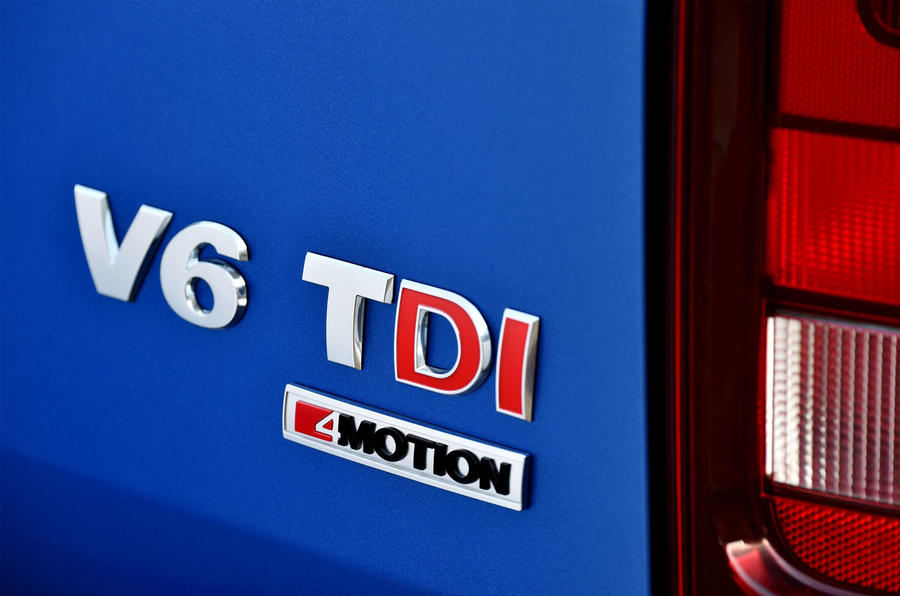 Volkswagen Amarok V6 TDI badging