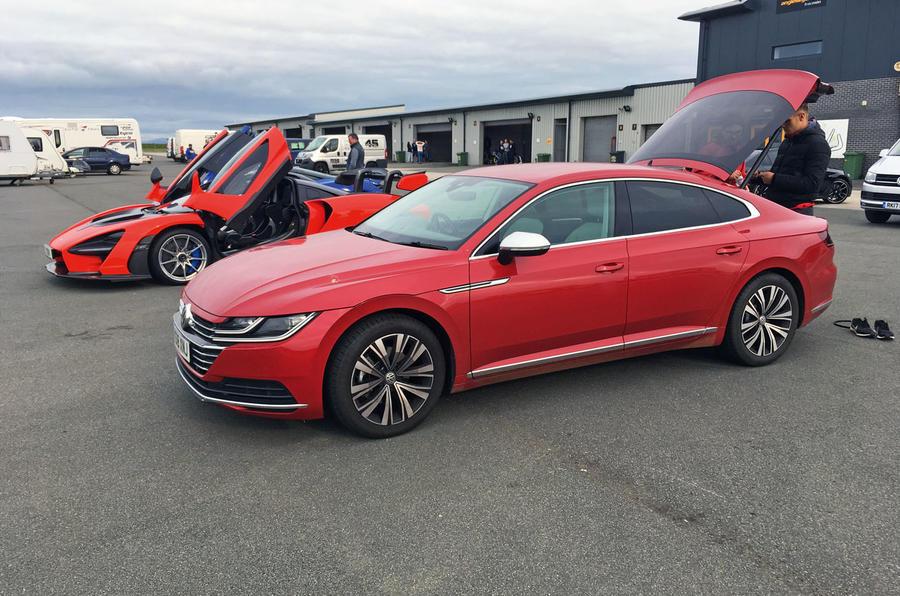 VW Arteon at Anglesey