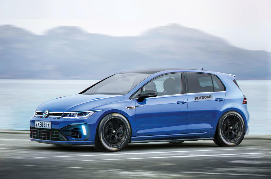 2020 Volkswagen Golf R Plus render