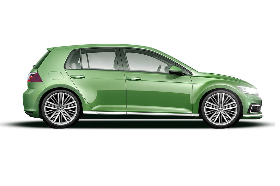 Volkswagen Golf GTI as imagined by Autocar