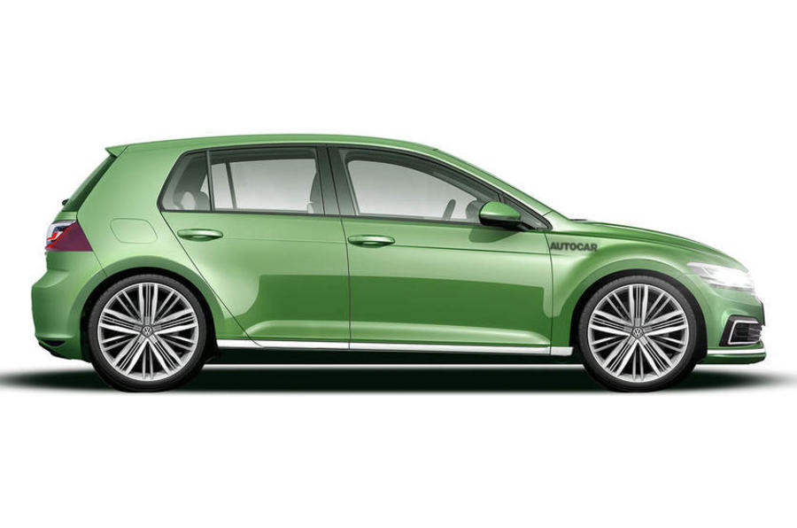 VW Golf Mk8 by Autocar