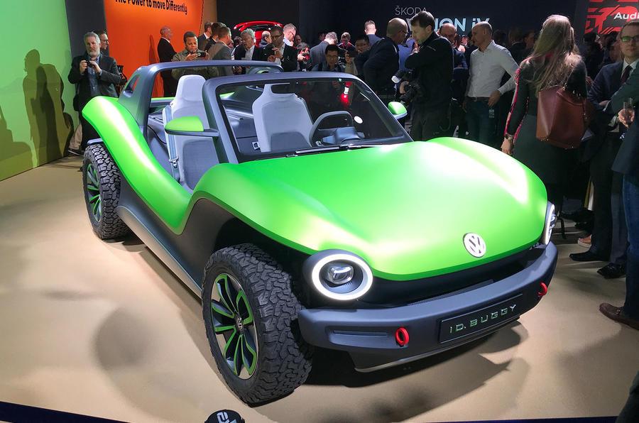 Volkswagen ID Buggy concept Geneva motor show 2019 - front