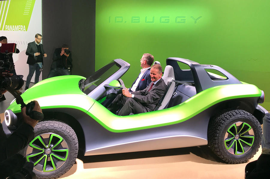 Vw Dune Buggy >> Volkswagen ID Buggy concept previews fun EV off-roader | Autocar