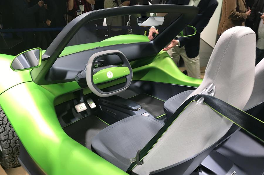 Volkswagen ID Buggy concept Geneva motor show 2019 - cabin