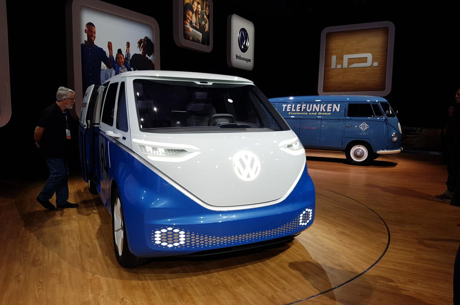 VW ID Buzz Cargo LA debut