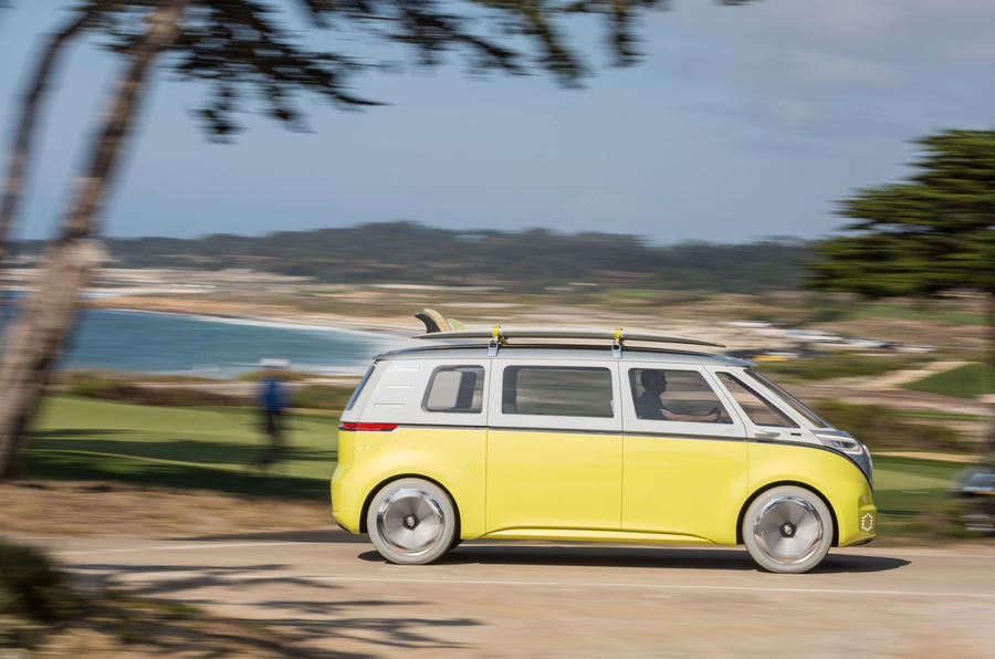 volkswagen to put microbus inspired id buzz electric car. Black Bedroom Furniture Sets. Home Design Ideas