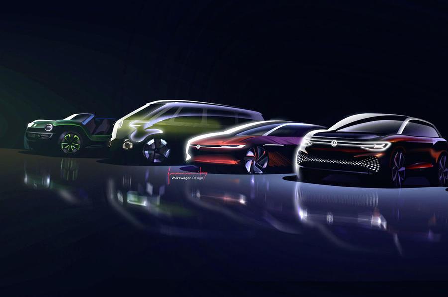 Volkswagen ID line-up