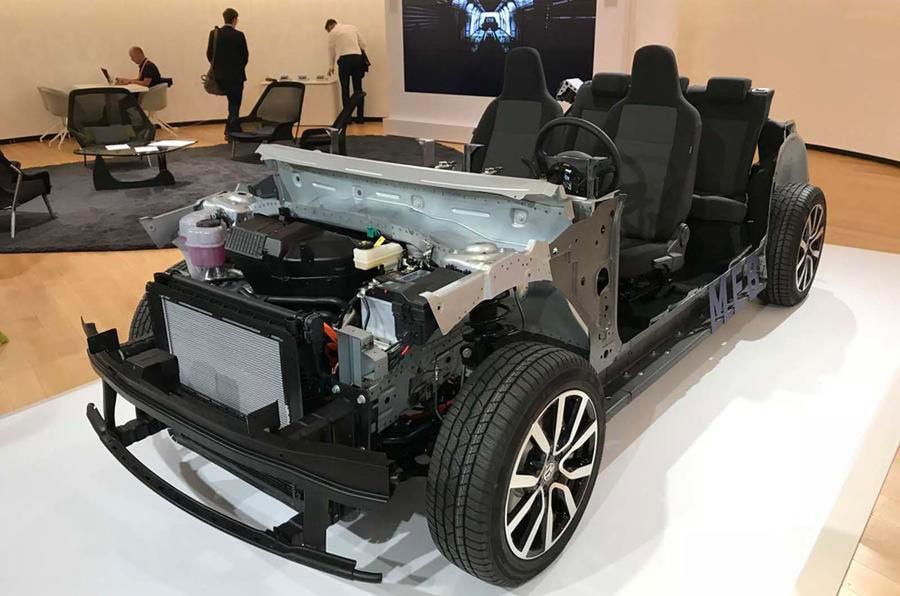 Volkswagen's MEB electric vehicle platform