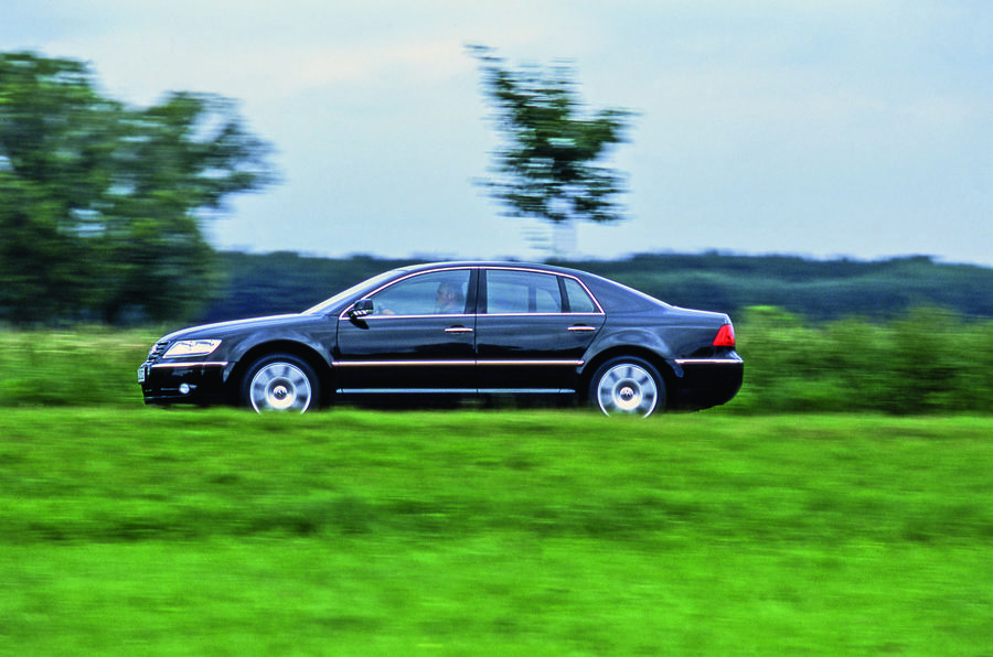 Volkswagen Phaeton driving - side