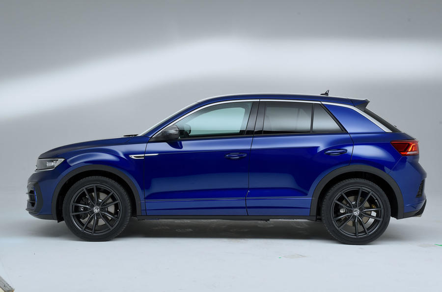 new volkswagen t roc r packs 296bhp for 2019 autocar. Black Bedroom Furniture Sets. Home Design Ideas