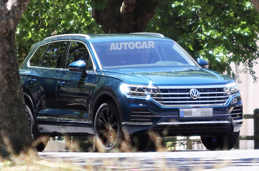 2018 Volkswagen Touareg Confirmed For Late March Debut