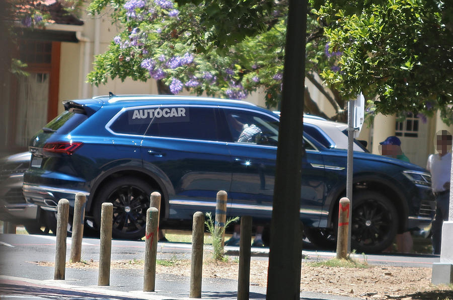 Next Volkswagen Touareg styling revealed ahead of official debut