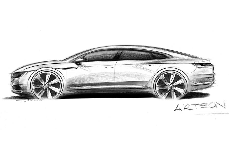 2017 Volkswagen Arteon - spy pics and tech specs of CC replacement | Autocar