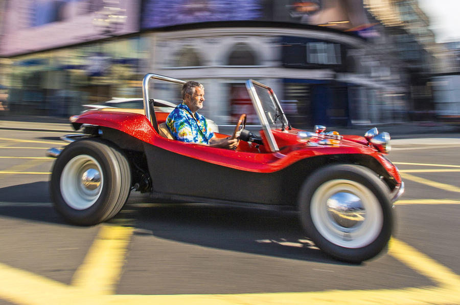 Meyers Manx beach buggy in London