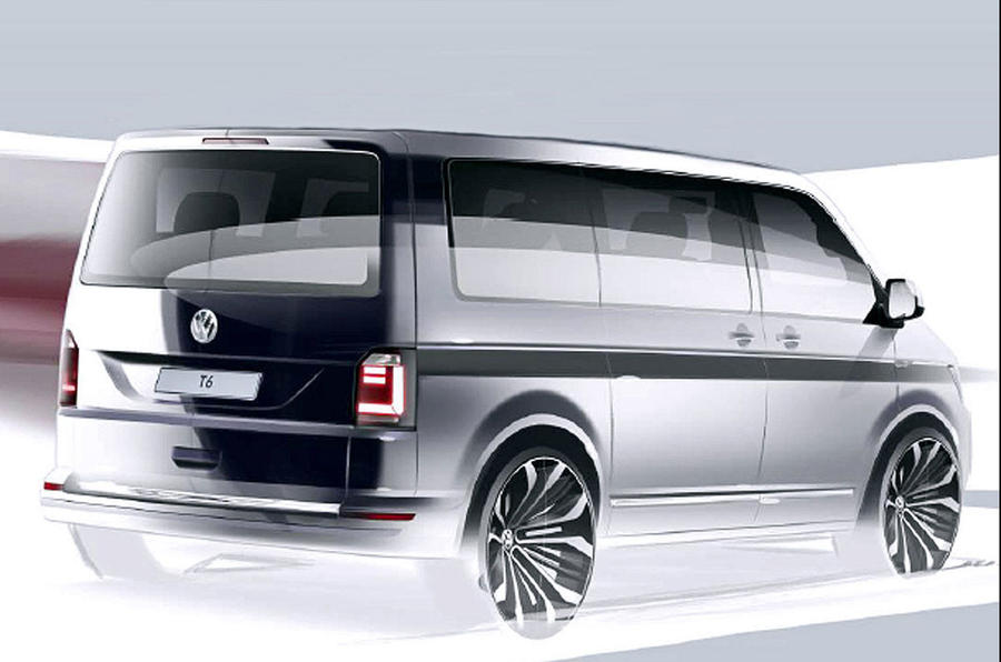 New Volkswagen Caravelle Generation Six Edition Revealed