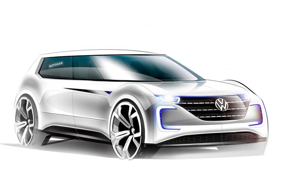 VWs 2019 electric vehicle for Paris motor show reveal  Autocar