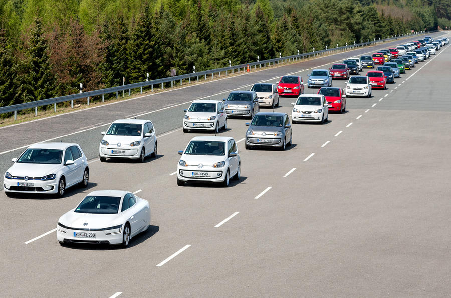 VW Group sales 2016