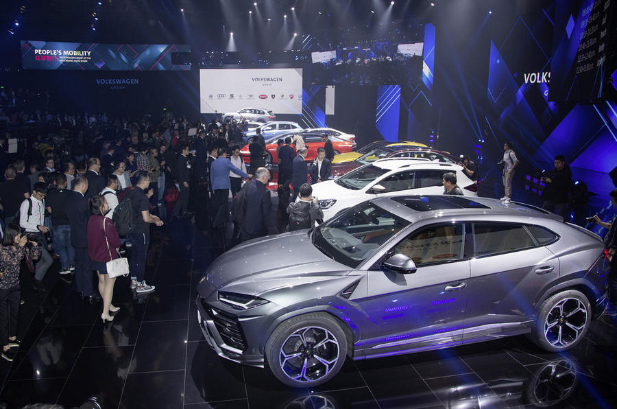 VW group night at Beijing 2018