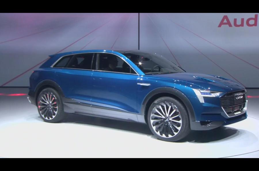 audi q6 e tron quattro confirmed for production autocar. Black Bedroom Furniture Sets. Home Design Ideas