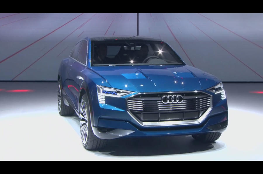 Audi Q6 e-tron quattro confirmed for production | Autocar