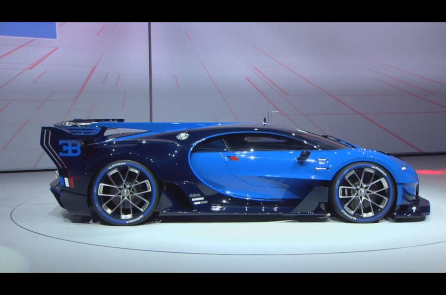 Bugatti Vision Gran Turismo concept - new video | Autocar