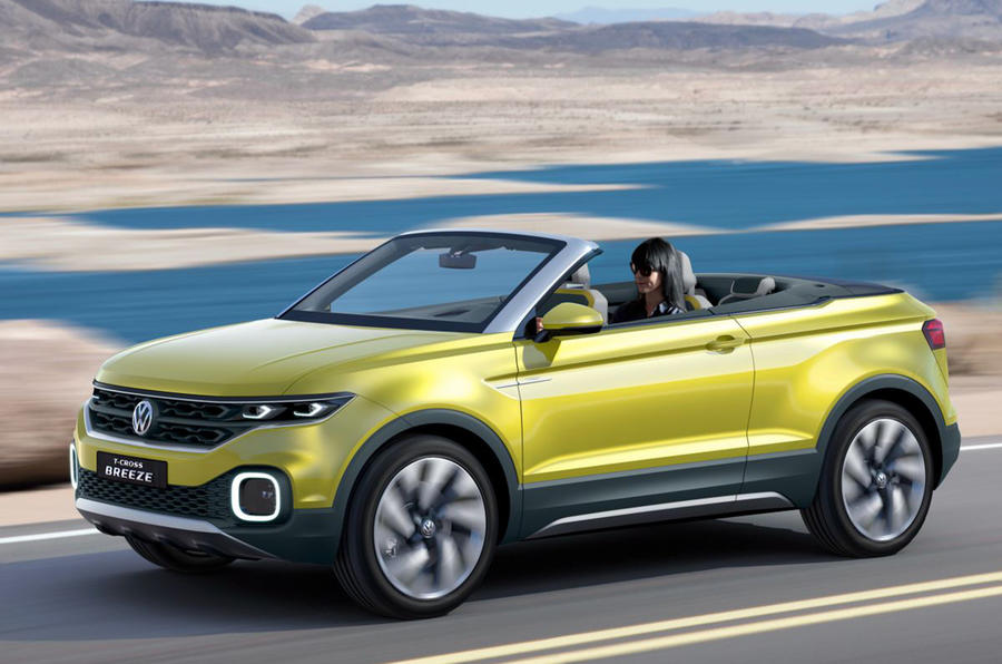 Vw Suv Polo >> New Volkswagen T-Cross Breeze concept leaks out | Autocar