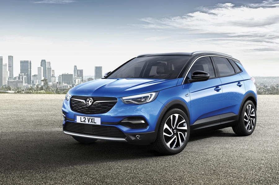 New Vauxhall Grandland X SUV revealed