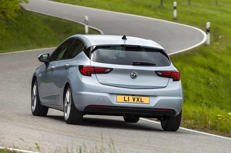 2020 Vauxhall Astra - rear