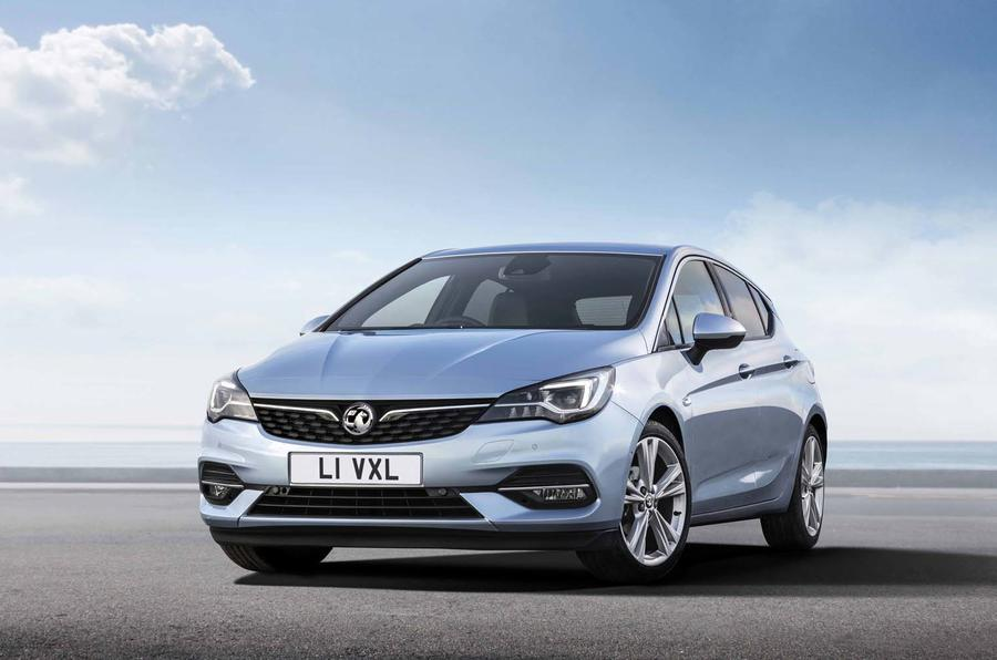 2020 Vauxhall Astra - front