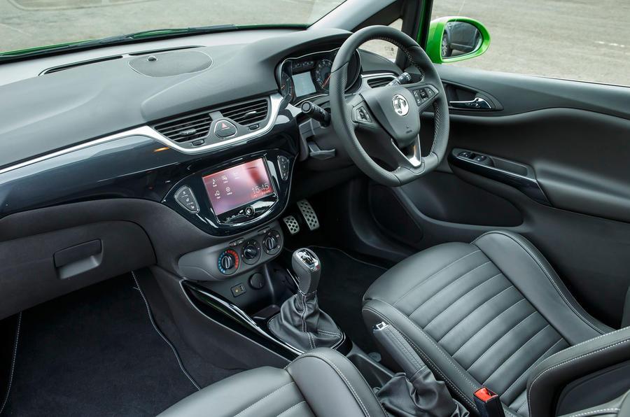 Vauxhall Corsa VXR interior