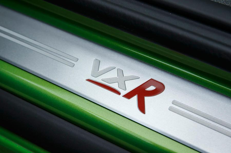 Vauxhall Corsa VXR kickplates