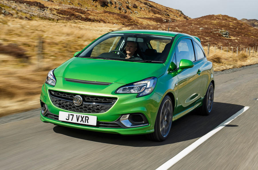 4 star Vauxhall Corsa VXR