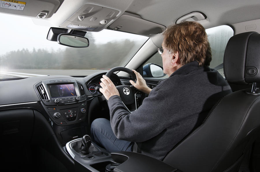 Driving the Vauxhall Insignia