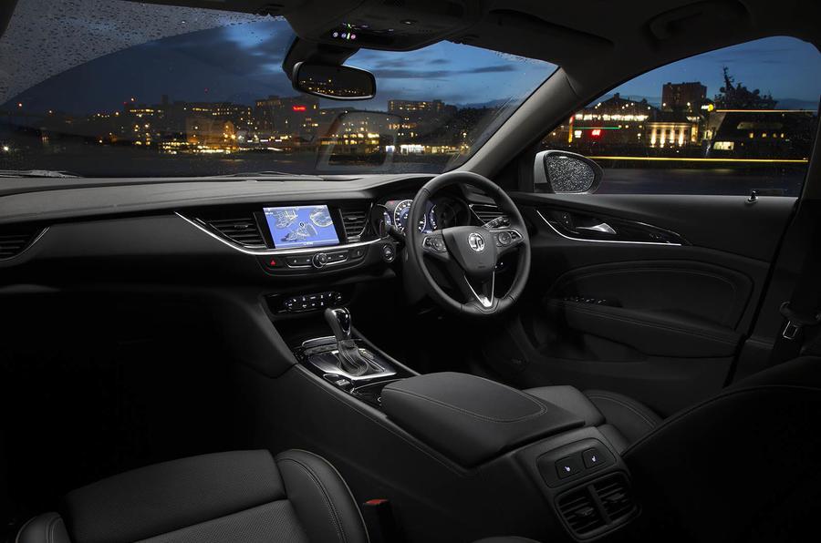 Vauxhall Insignia Grand Sport dashboard