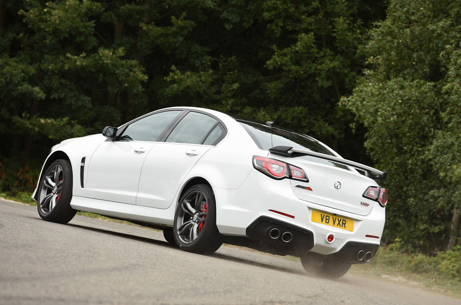 Vauxhall VXR8 GTS rear