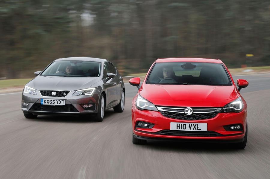 Cars That Start With J >> Seat Leon, Ford Focus, Vauxhall Astra versus Mazda 3 ...