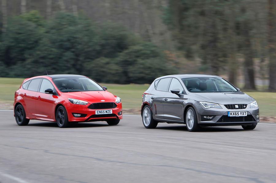 ... Seat Leon, Ford Focus, Vauxhall Astra Versus Mazda 3 ...