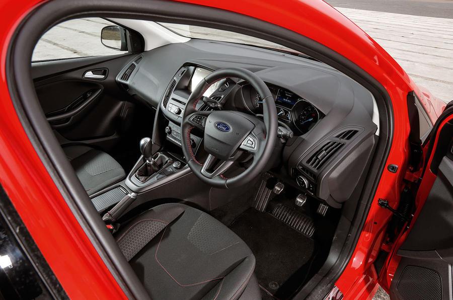Mazda Navigation Hack >> Seat Leon, Ford Focus, Vauxhall Astra versus Mazda 3 - warm hatch group test | Autocar