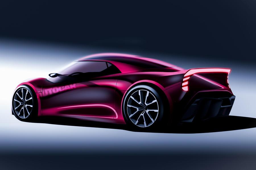 Dream car render side