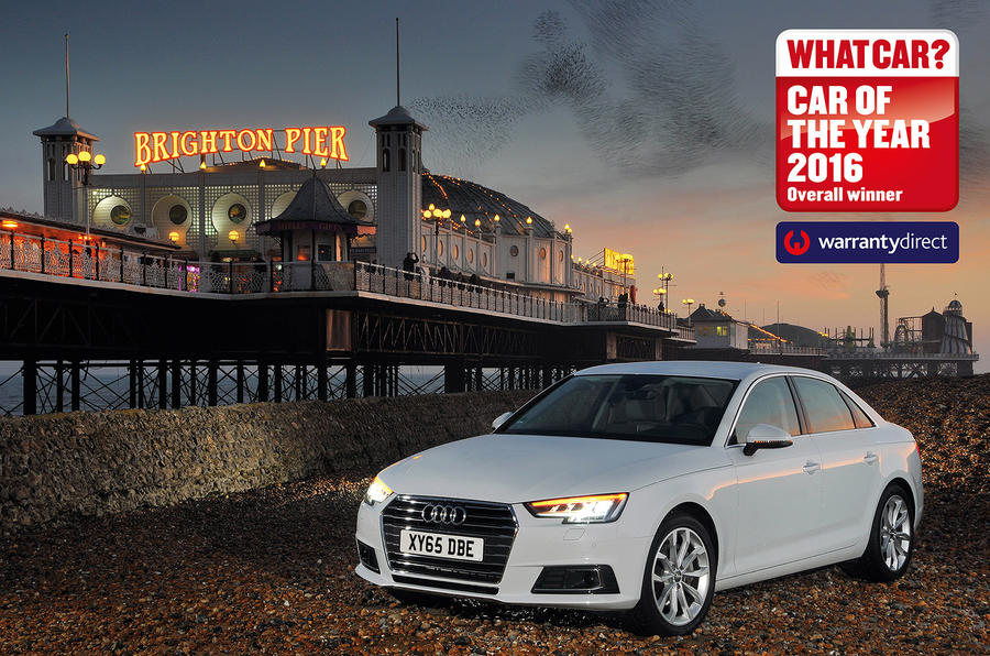 New Audi A Wins What Car Car Of The Year Award Autocar - Audi car year