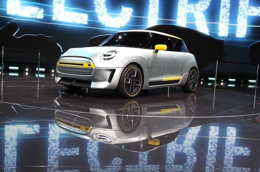 BMW to produce Mini EV in China for local market