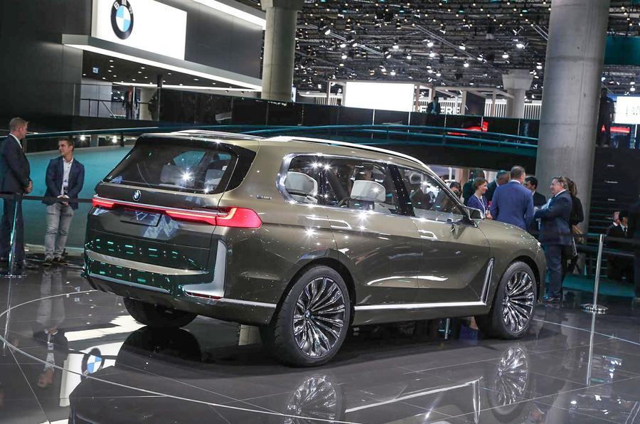 Bmw Concept X7 Iperformance Previews Range Topping Suv Autocar