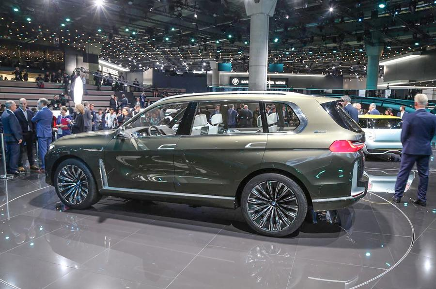 Bmw Concept X7 Iperformance Previews Range Topping Suv